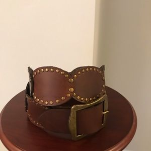 Nordstrom Accessories - Like New! Studded leather belt
